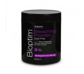 Bioshev Professional Bioptim Bleaching  Powder Dust Free  violet color Ντεκαπάζ  500g.