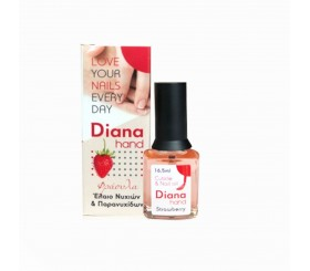 DIANA CUTICLE AND NAIL OIL  STRAWBERRY 16,5ML
