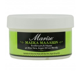 Marise Μάσκα Μαλλίων Με Aloe Vera ,Argan oil κ Μετάξι 500ml.